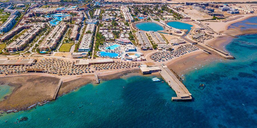 Hotel Aladdin Beach Resort, Hurghada, Egypt