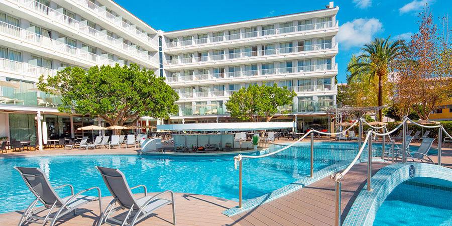 Hotel Js Sol de Alcudia, Mallorca, Španělsko