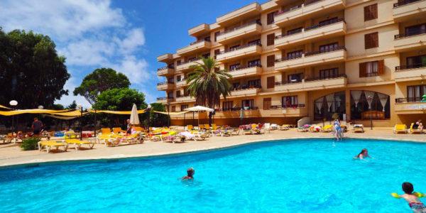 Hotel Playamar, S'Illot, Mallorca, Španělsko