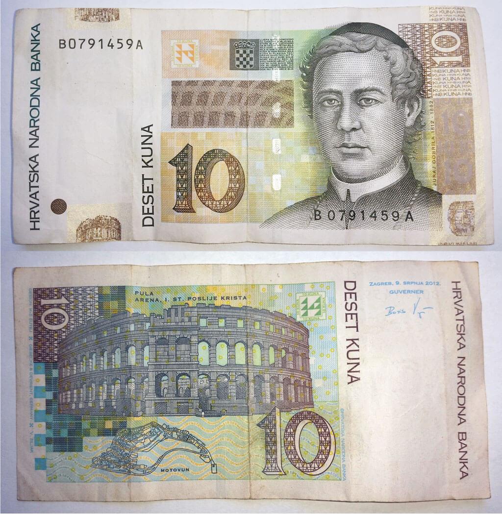 Měna v Chorvatsku - chorvatská kuna