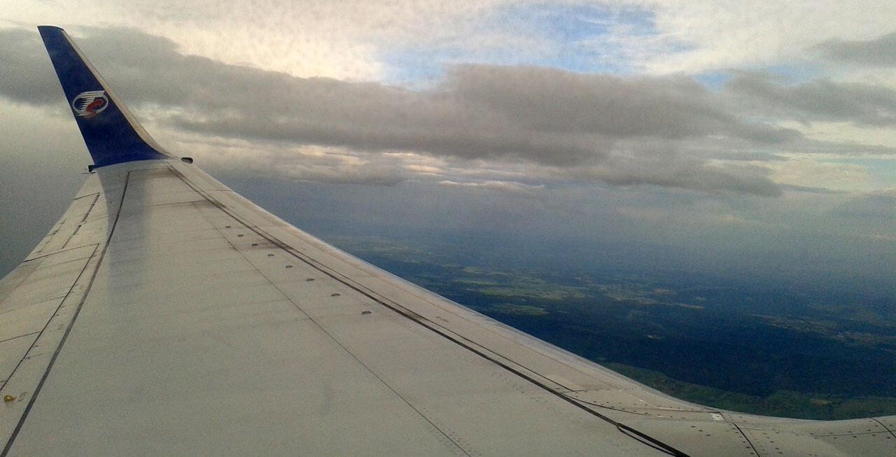 Doba letu na Mallorcu - po vzletu z Prahy