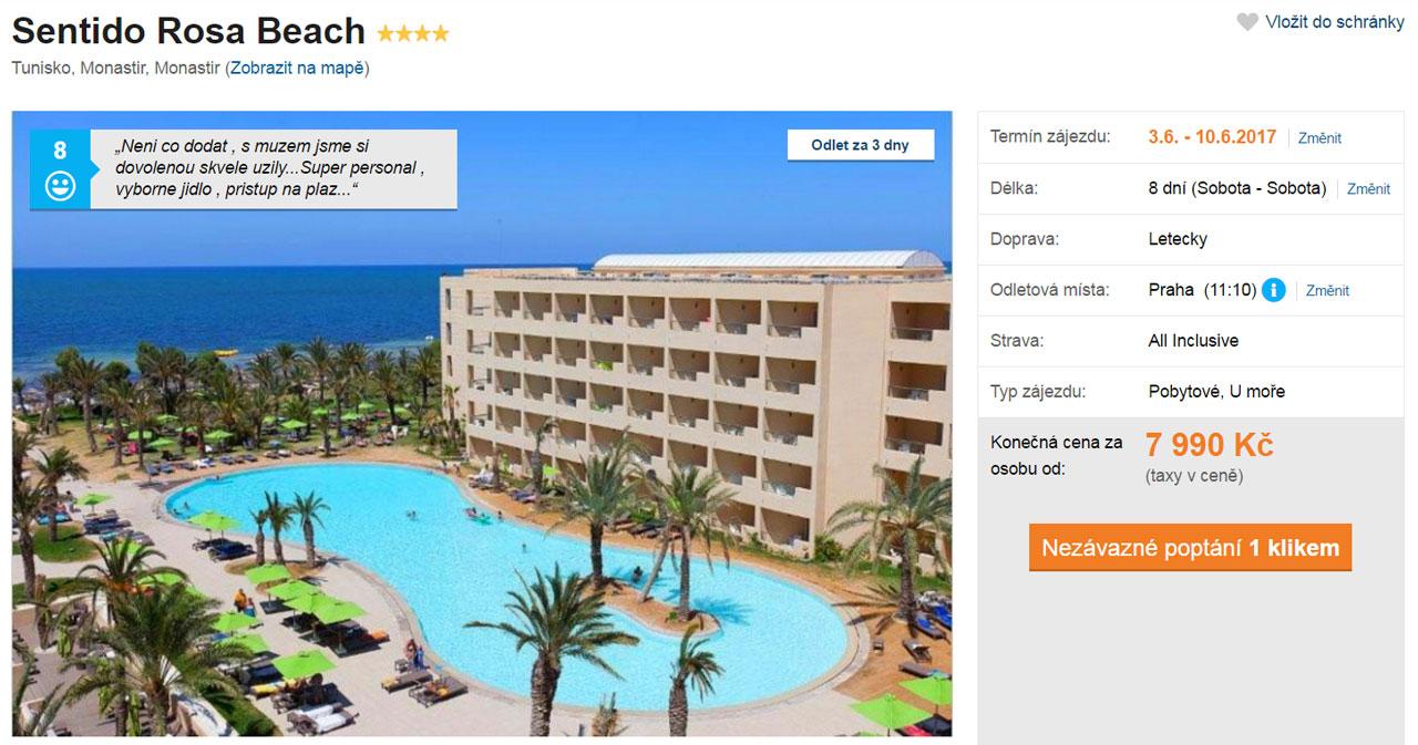 tunisko_monastir_dovolena_sentido_rosa_beach