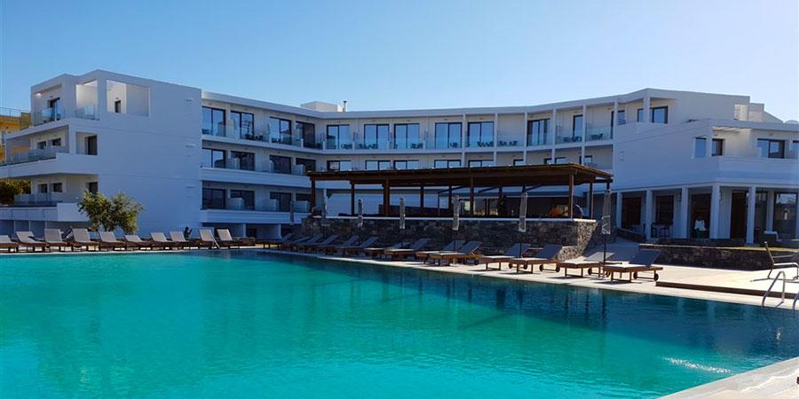 Hotel Amounda Bay, Kréta, Řecko
