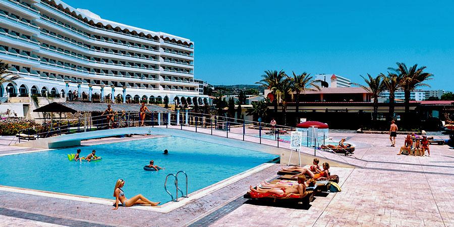 Hotel Dessole Olympos Beach Resort, Rhodos, Řecko