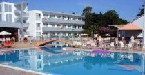 Hotel Evi, Faliraki, Rhodos, Řecko