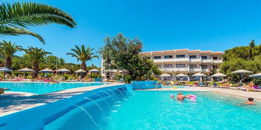 Hotel Filerimos Village, Rhodos, Řecko