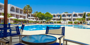 Hotel Lardos Bay, Rhodos, Řecko