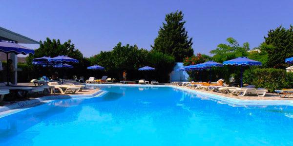 Hotel Loutanis, Rhodos, Řecko