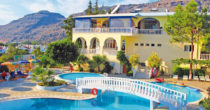 Hotel Pefkos Garden, Rhodos, Řecko