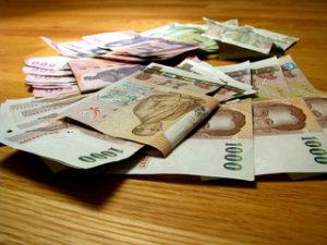 Thajská měna
