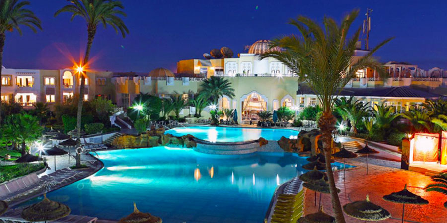 Hotel Djerba Holiday Beach, Djerba, Tunisko
