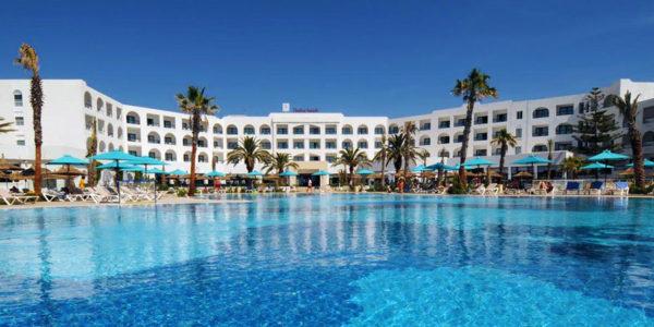 Hotel Vincci Nozha Beach, Hammamet, Tunisko