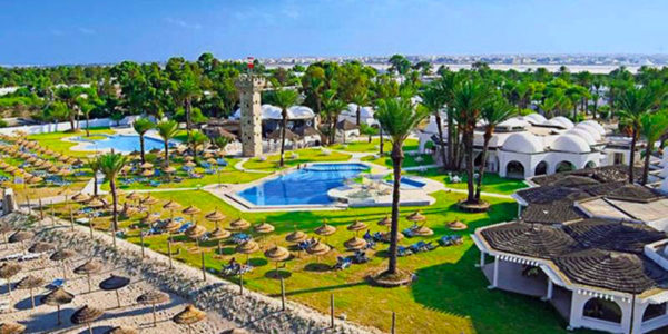 Hotel Calimera Rosa Rivage, Monastir, Tunisko