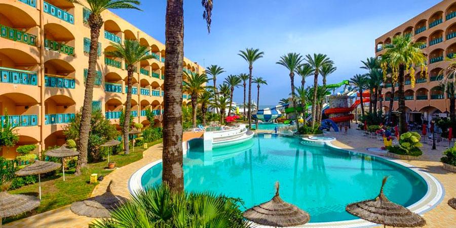 Hotel Marabout, Sousse, Tunisko