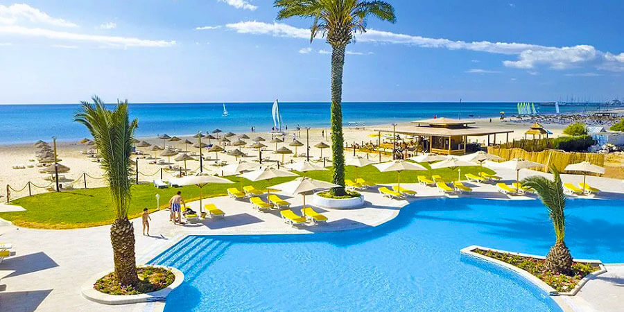 Hotel Salammbo, Yasmine Hammamet, Tunisko