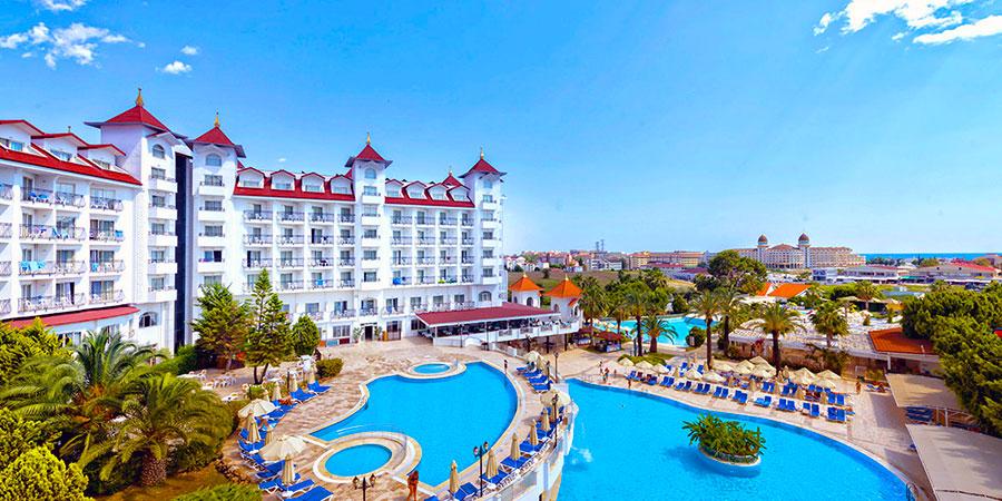 Hotel Serenis, Side, Turecko